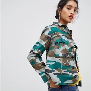 J. Crew Mercantile Women's Camouflage Utility